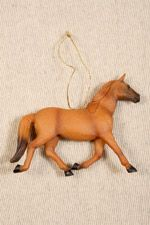 pfft not even christmas yet but Id love this, Brown Horse Christmas Decoration