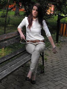 Khaki Pants, Shopping, Fashion, Moda, Khakis, Fashion Styles, Fashion Illustrations, Trousers