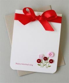 sweet and simple valentine card by pilar laguna