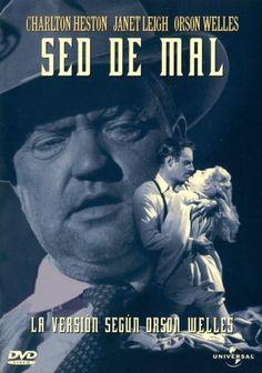 Sed de mal (1958) EEUU. Dir: Orson Welles. Cine negro. Suspense - DVD CINE 66