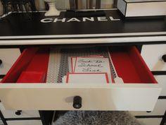 From Trash to Treasure: Nicholas' Chanel Inspired DIY Desk