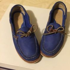 Frye Shoes - Frye Quincy Tie Leather Mocs, 7.5M, PRICE FIRM