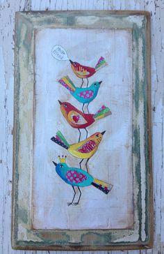 Sweet Birds by evesjulia12 on Etsy