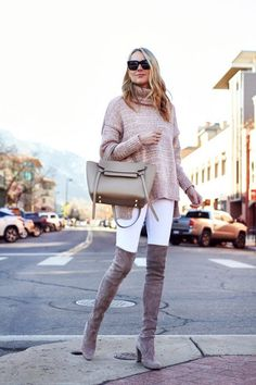 The best way to look cute in winter is to wear plenty of layers, and play with textures and proportions. These are the winter looks of the season.