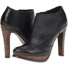 calvin klein black booties
