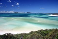 Whitehaven Beach, Australia.  I need to go here someday....