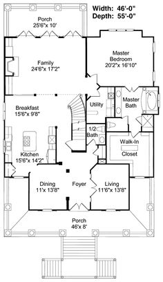 Dream House Floor Plan