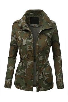 Every girl should have a camo jacket, it's an essential. Pre-order yours here http://ss1.us/a/3mAJS1qo