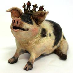 French Pig Paper Scu