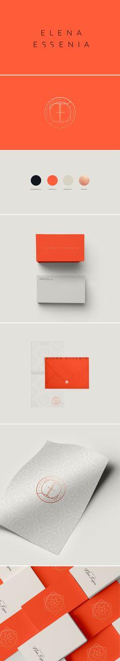 Elena Essenia brand design by Cocorrina