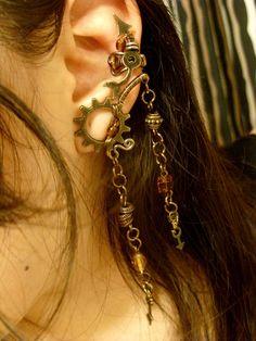Steampunk Ear Cuff