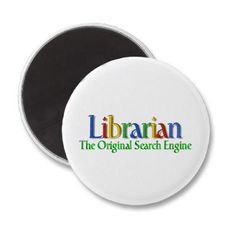 Librarian pin - I think our staff should wear these!
