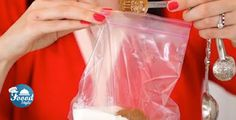 Salt And Cinnamon In A Bag !!  Must See What She Makes!