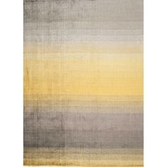 Linie Design Grace Rug Grace is like a modern watercolor painting elegantly rendered on your floor. Made of loom-knotted viscose. Linie Design rugs provide originality, luxury, and comfort for the mod Yellow Carpet, Carpet Colors, Wall Carpet, Rugs On Carpet, Carpets, Master Bedroom Redo, Yellow Area Rugs, Magic Carpet, Paintings