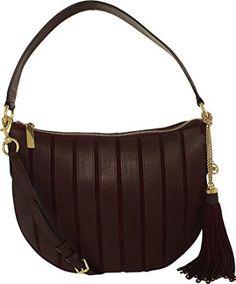 34fc455abe Michael Kors Women s Medium Brooklyn Applique Suede Leather Shoulder Bag  Hobo Review
