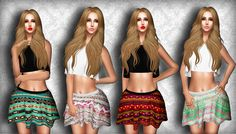 Second Life Marketplace - Gift! .:Vitrimi:. Skater Skirt Fat Pack