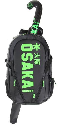 Osaka Hockey Bag and Stick - Deep, deep want/need. Osaka, Hockey Gear, Ice Hockey, Hockey Stuff, Field Hockey Sticks, Lacrosse, Backpack Bags, Blog, Deep