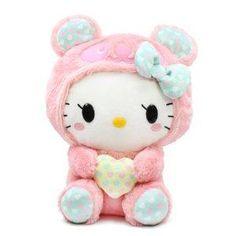 "I found 'Sanrio Hello Kitty Panda Plush Doll - 13"" Pink Panda' on Wish, check it out!"