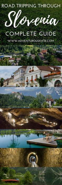 The ultimate guide to planning a summer road trip through Slovenia. This 4-day road trip itinerary contains all of the best places to visit including Ljubljana, Idrija, Skocjan Caves, Bled, Radovljica and Lake Bohinj with the top things to do along the way. A bucket list worthy trip to Eastern Europe. | Adventurous Kate: Solo Female Travel Blog #Slovenia