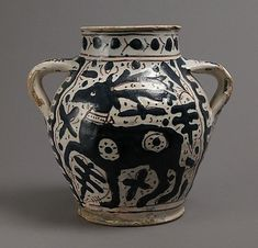 Two-Handled Jar, early 15th century, Florence, Italy