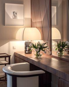Armani Casa Edward chair, Balboa table lamp.
