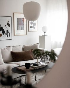 Cozy Scandinavian living room style by Amanda Axelsson Cozy Living Rooms, Living Room Interior, Home Living Room, Home Interior Design, Living Room Designs, Living Room Decor, Scandinavian Interior Living Room, Dining Room, Bedroom Furniture Design
