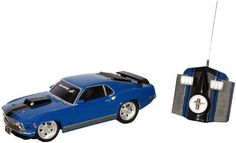 !@  Toy State Road Rippers Motor Muscle Radio Control: 1970 Ford Mustang Mach 1 by MPA
