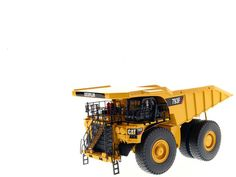 CAT Caterpillar 793F Mining Truck with Operator High Line Series 1/50 Diecast Model by Diecast Masters