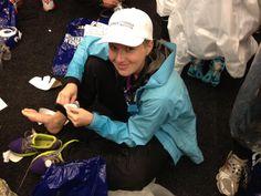 Summer 2012 memories: Getting ready for Stockholm marathon
