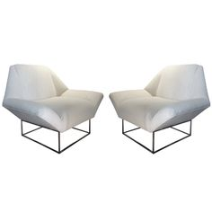 1stdibs - A pair of Milo Baughman Lounge Chairs explore items from 1,700  global dealers at 1stdibs.com