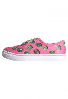 Even&Odd - Sneaker - pink/green