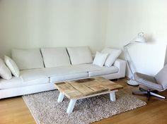 Couchtische - Couchtisch, Shabby-Landhaus-Stil handmade - ein Designerstück von Zimmerliebe bei DaWanda