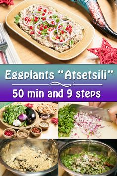 "Eggplants ""Atsetsili"" can be definitely called delicious and decorative Georgian appetizer."