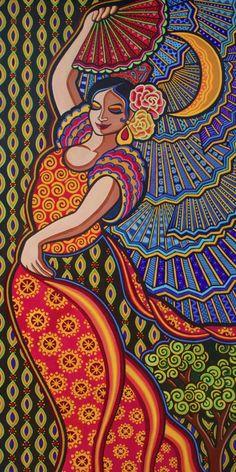 Madhubani Art, Madhubani Painting, Indian Folk Art, Mexican Folk Art, Mandala Drawing, Mandala Art, Rajasthani Art, Indian Art Paintings, Oil Paintings