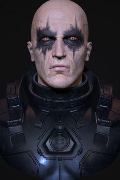 Updated to not look like old Matt Damon! Darth Bane, Star Wars Characters, Star Wars Episodes, Star Destroyer, Sith Costume, Costume Halloween, Cyberpunk, Sith Warrior, Star Wars Nursery