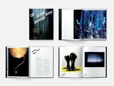 British Glass Biennale 2008 catalogue spreads