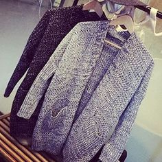 23Buy Fashion Street Mélange Chunky Cardigan at YesStyle.com! Quality products at remarkable prices. FREE WORLDWIDE SHIPPING on orders over US$35.