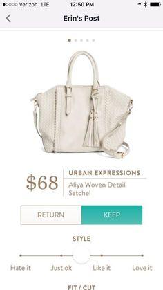 Urban expressions Aliya satchel in a fall color