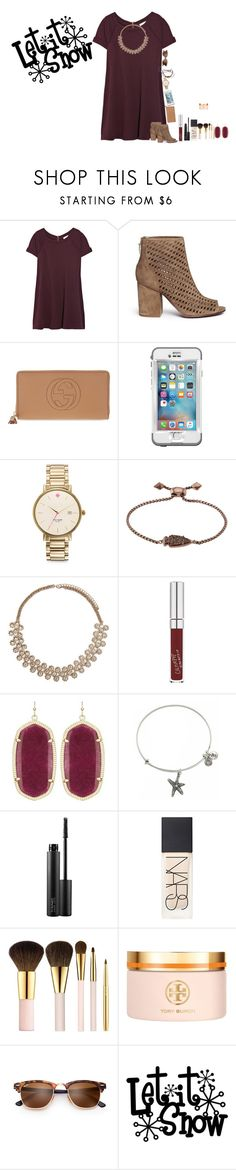 """13 Days till Christmas!!!!"" by amaya-leigh ❤ liked on Polyvore featuring Vanessa Bruno, Ash, Gucci, LifeProof, Kate Spade, Kendra Scott, Forever 21, Alex and Ani, MAC Cosmetics and NARS Cosmetics"