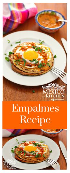 How to make Empalmes Recipe │This breakfast dish is accompanied with black coffee –I like it without sugar– or with a very cold glass of orange juice from the citrus-producing regions of Nuevo León. #breakfast #mexicancuisine #mexicanrecipes #mexicanfood