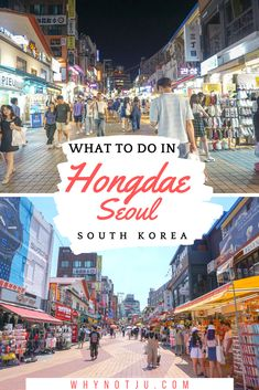All about things to do in Hongdae. Seoul's artsy and trendy neighborhood. From singing your lungs out and partying the night away, to eating delicious food and shop til you drop. Hongdae has it all. South Korea Travel, Asia Travel, Travel Abroad, Cool Places To Visit, Places To Go, Asia Cruise, Hongdae, Travel Guides, Travel Tips