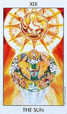 The Sun - Tarot of the Spirit The Sun Tarot Card, Tarrot Cards, Tarot Meanings, Oracle Tarot, Major Arcana, Picture Cards, Deck Design, Pretty Art, Tarot Decks