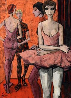 Dancers - Charles LevierFrench 1920-2004