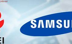 Samsung vai ser obrigada a pagar US$ 11,6 milhões para a Huawei na China