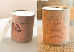 Chick Lit Candles by Morgan Sterns, via Behance
