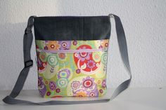 Canvastaschen - Tasche Jeanstasche Umhängetasche - ein Designerstück von…