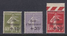 FRANCE 1931. N°275/77 SERIE 'CAISSE AMORTISSEMENT' NEUVE X TB.  325€.   H146  | eBay