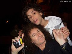 Mika and Queen's Brian May 2007