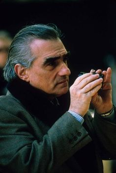 martin scorsese on-set of bringing out the dead (1999)