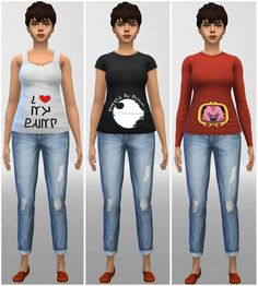 Maternity Shirts for TS4